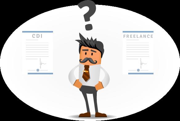 freelance cdi